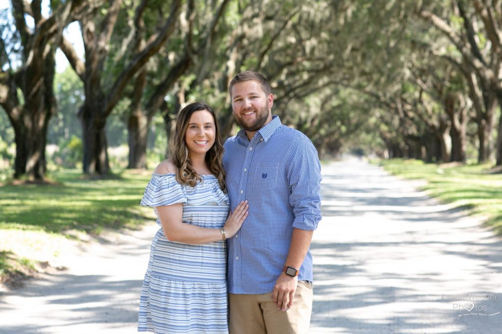 Surprise proposal photographer in Savannah